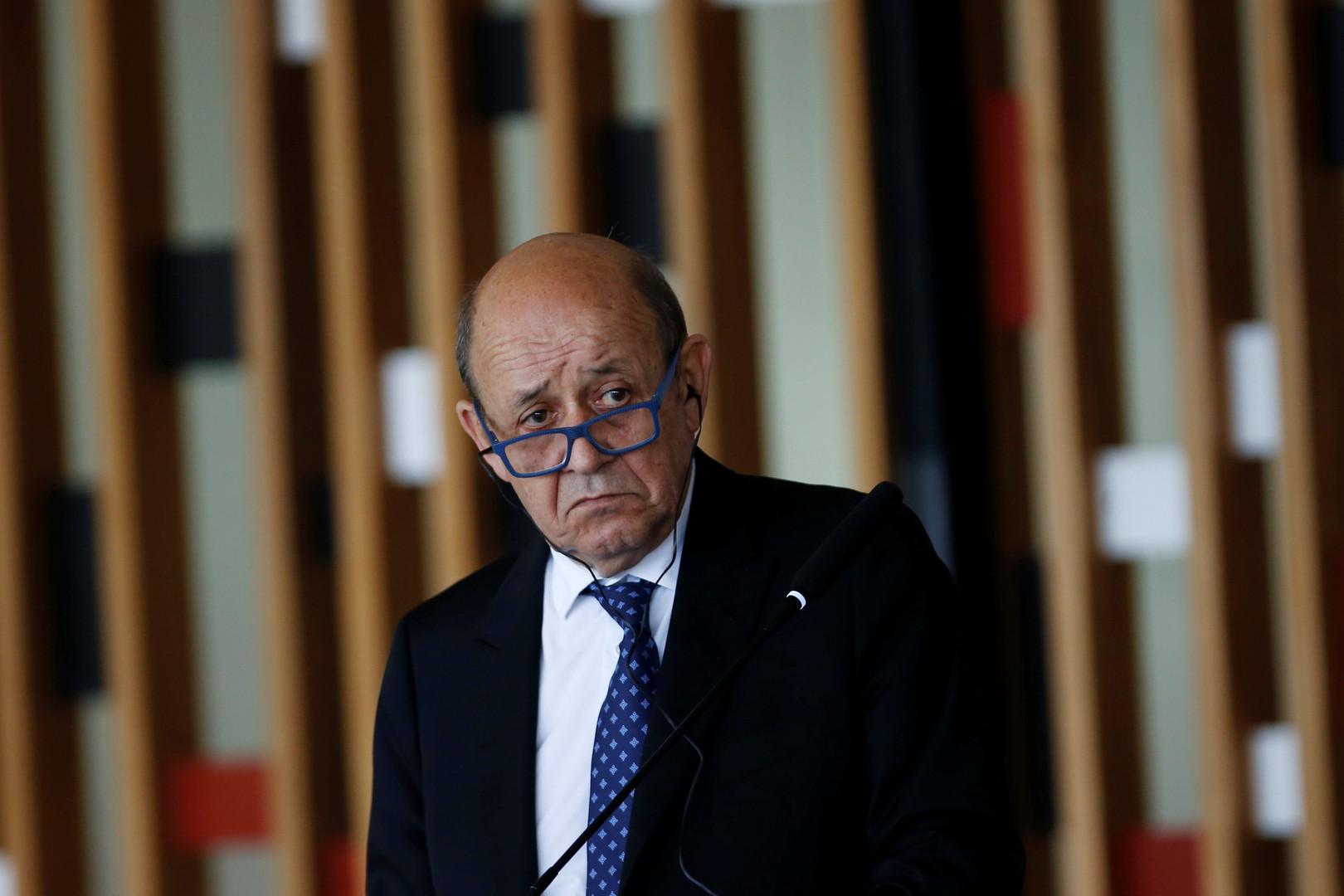 وزير الخارجية الفرنسي جان إيف لو دريان- أرشيف