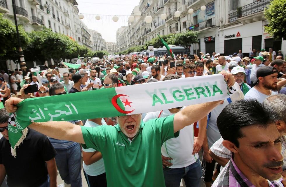 مظاهرات الجزائر (أرشيف)