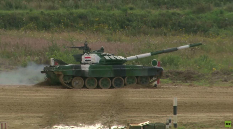 """نتائج سورية متقدمة في """"بياتلون الدبابات"""""""