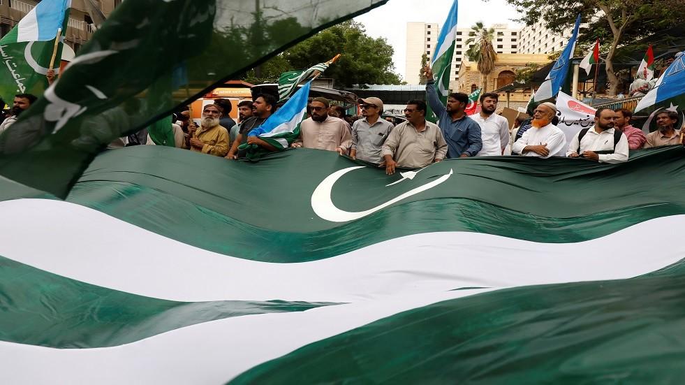 علم باكستان - أرشيف