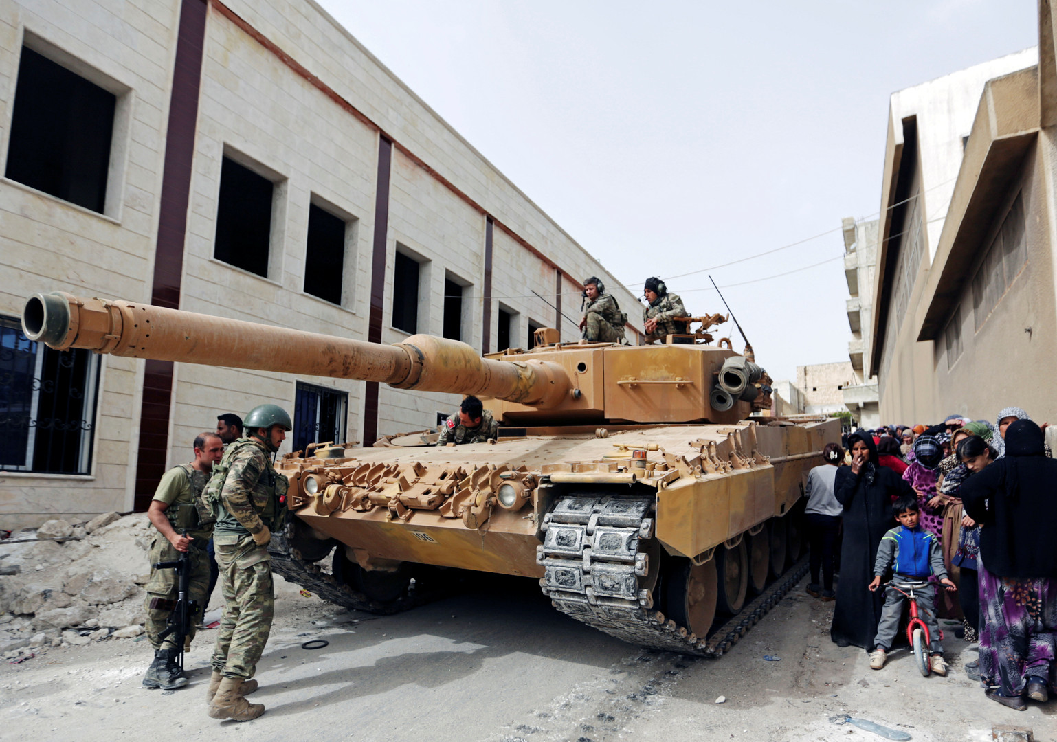 قوات تركية في عفرين السورية - أرشيف