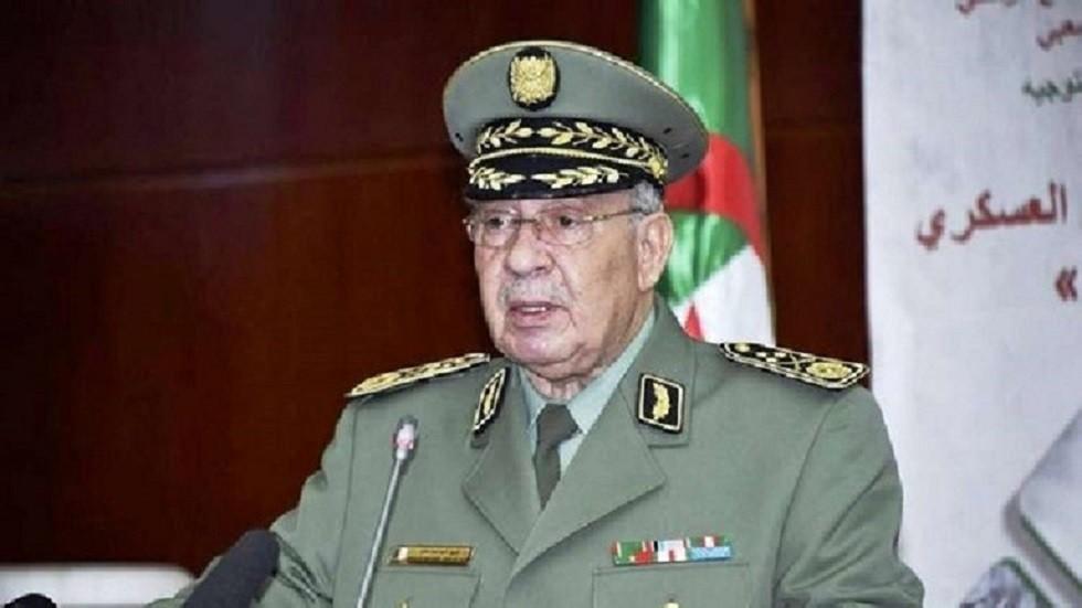 قائد أركان الجيش الجزائري الفريق أحمد قايد صالح
