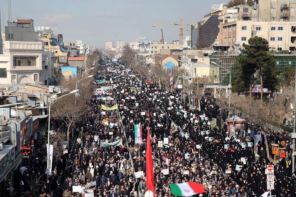 الأمن الإيراني يلقي القبض على مجموعة كانت تنوي قلب نظام الحكم