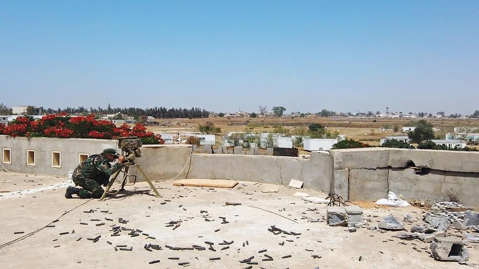معركة طرابلس - أرشيف
