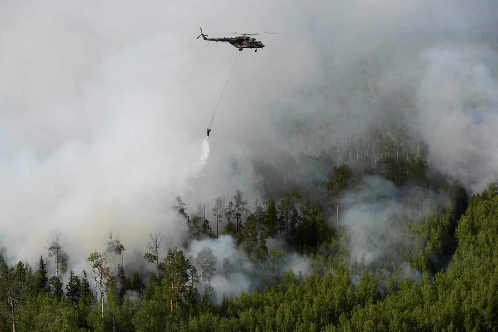 مكافحة حرائق الغابات في روسيا