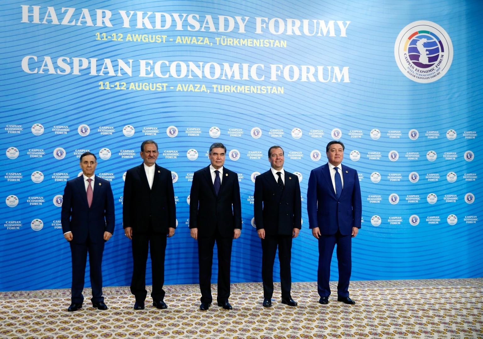 موسكو تدعو دول بحر قزوين لتحرير التجارة