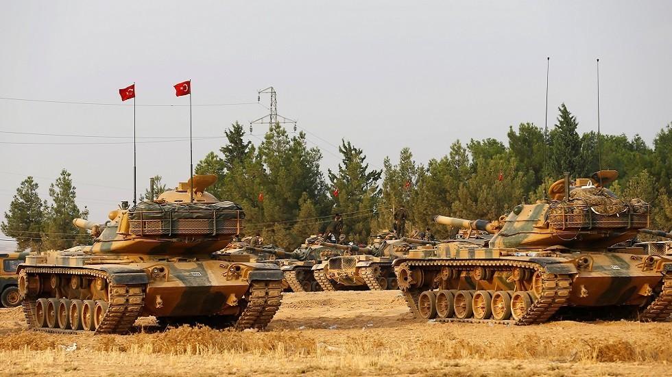 قوات تركية على الحدود مع سوريا (صورة أرشيفية)