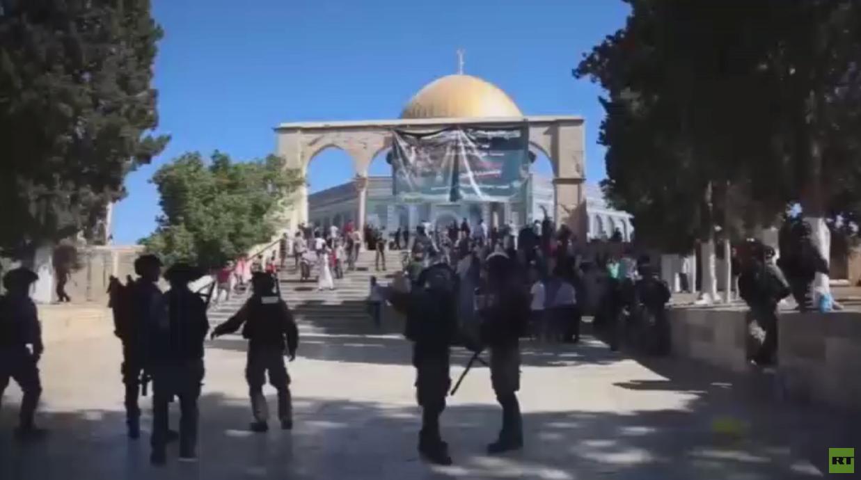 شجب فلسطيني لممارسات إسرائيل في الأقصى