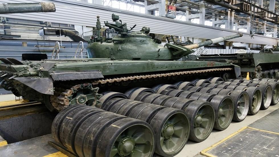 شركة روسية تنتج روبوتات مصنوعة على أساس دبابة