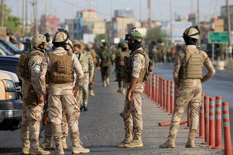 عناصر من القوة العراقية
