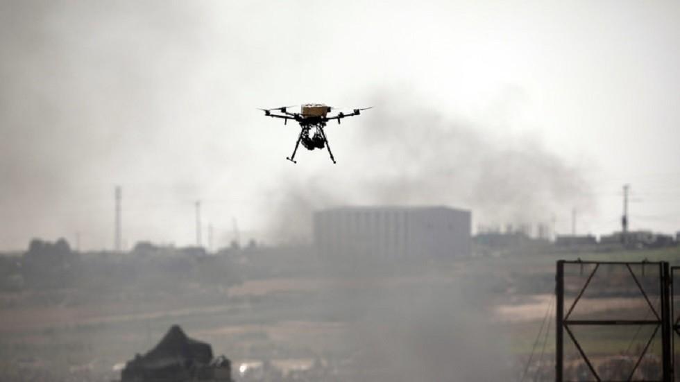 طائرة مسيرة انطلقت من غزة - أرشيف -