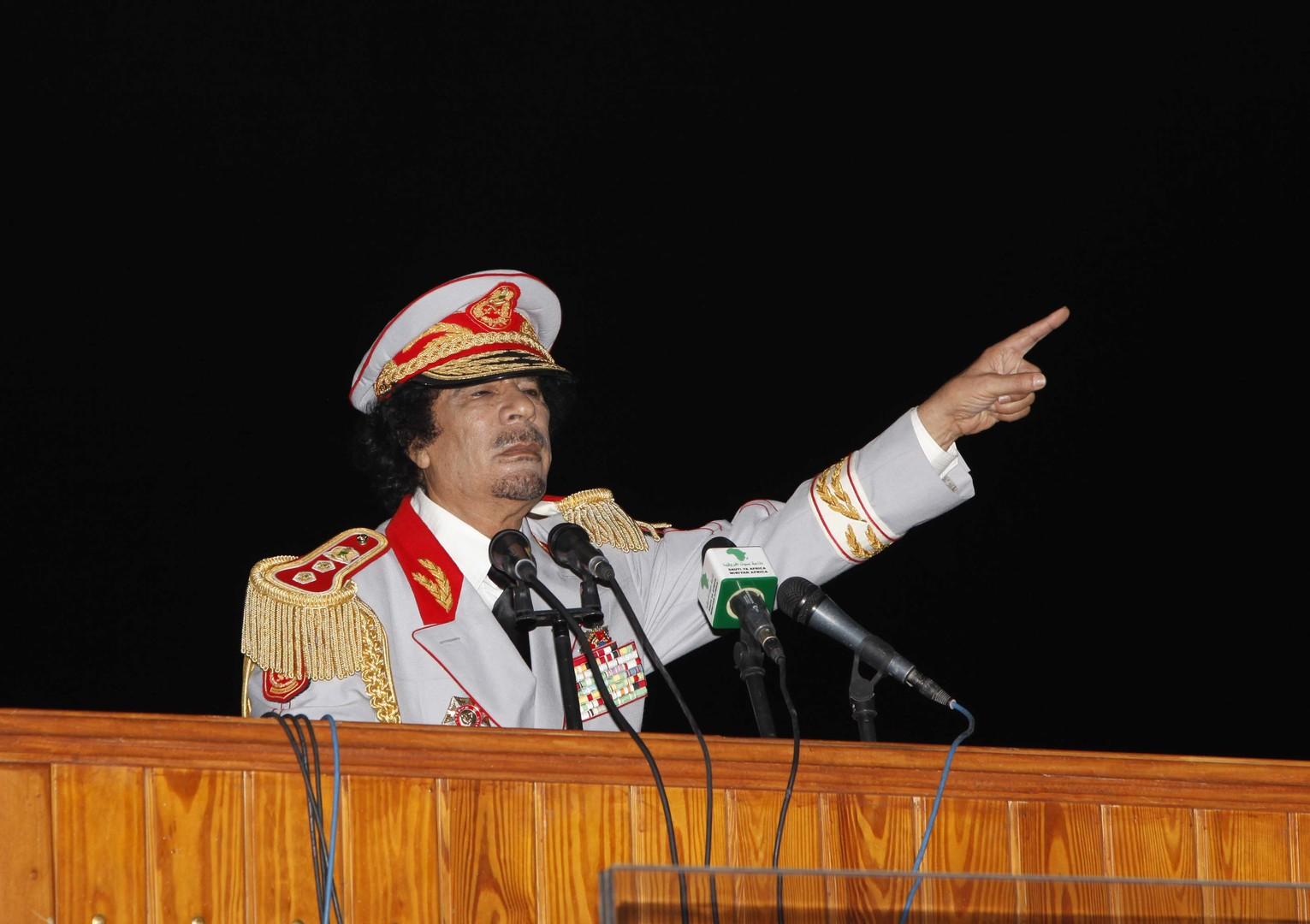 أضحية القذافي حاضرة حتى بعد غيابه!