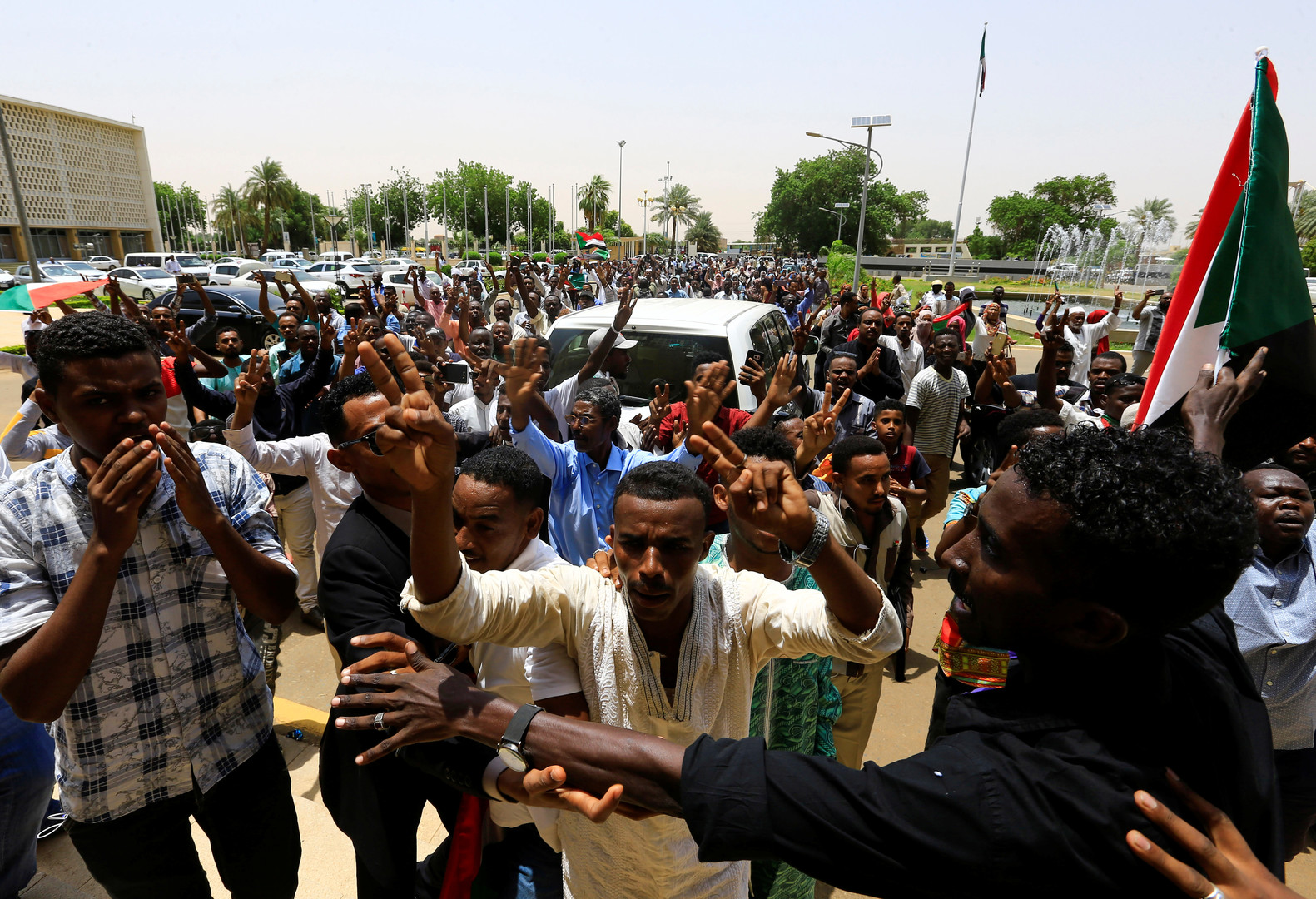 بيان مصري رسمي بشأن اجتماع المعارضة السودانية في القاهرة