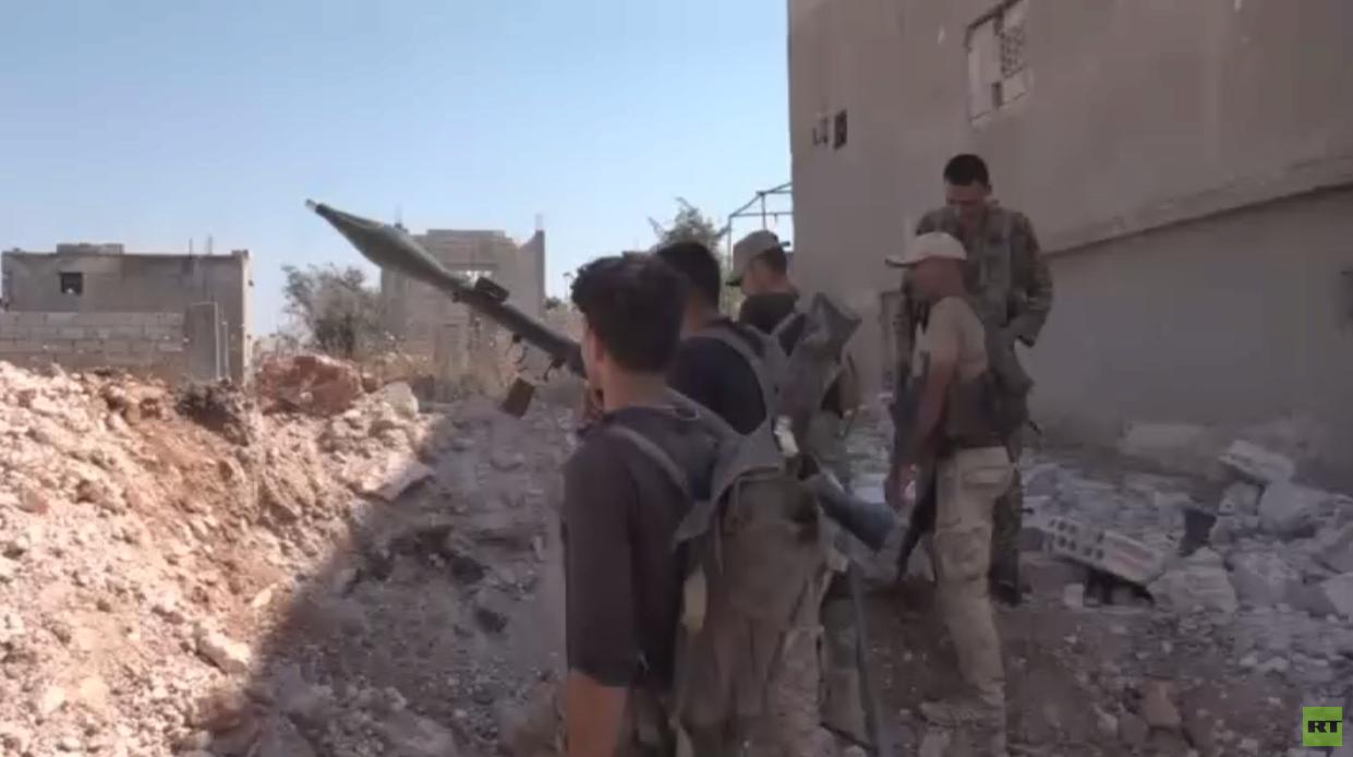 الجيش السوري يتقدم في ريفي إدلب وحماة