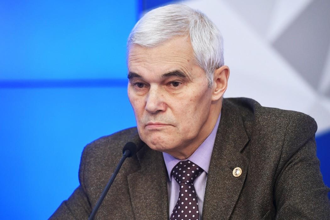 النائب الأول لرئيس أكاديمية الشؤون الجيوسياسية، قسطنطين سيفكوف