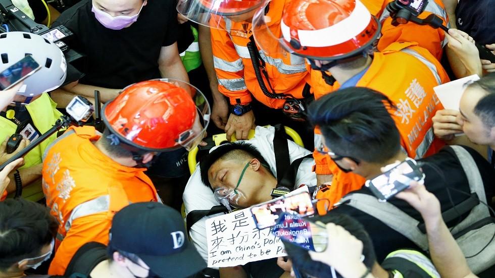 الصين: أفعال المتظاهرين في هونغ كونغ