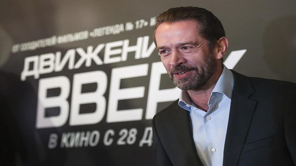 الممثل الروسي فلاديمير ماشكوف