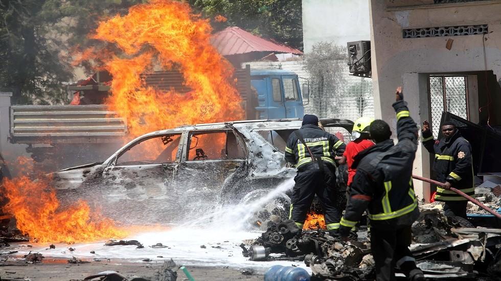 تفجير بسيارة مفخخة في الصومال (أرشيف)