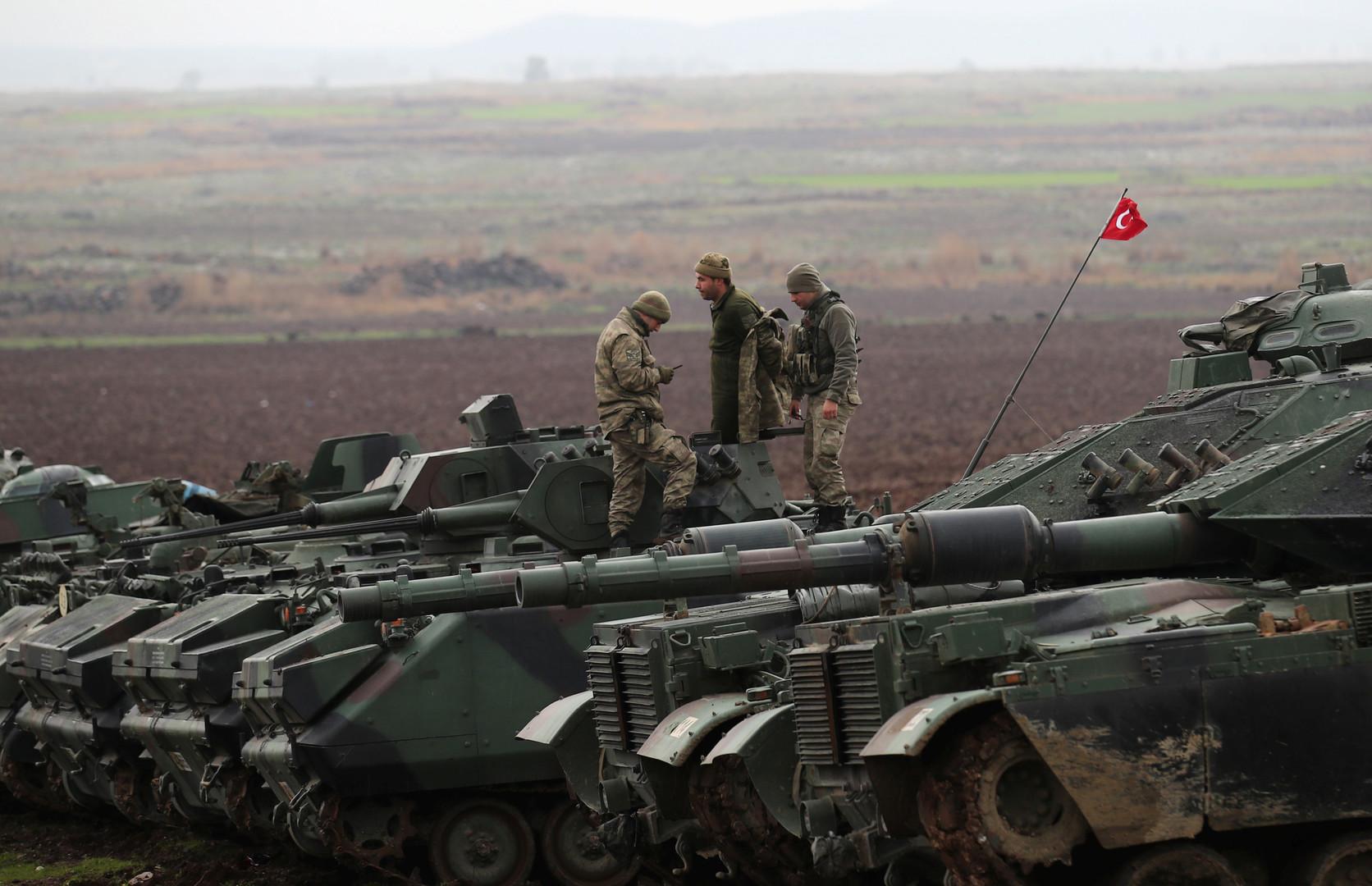 طائرات مسيرة تحلق شمال سوريا في إطار التفاهم الأمريكي التركي بشأن