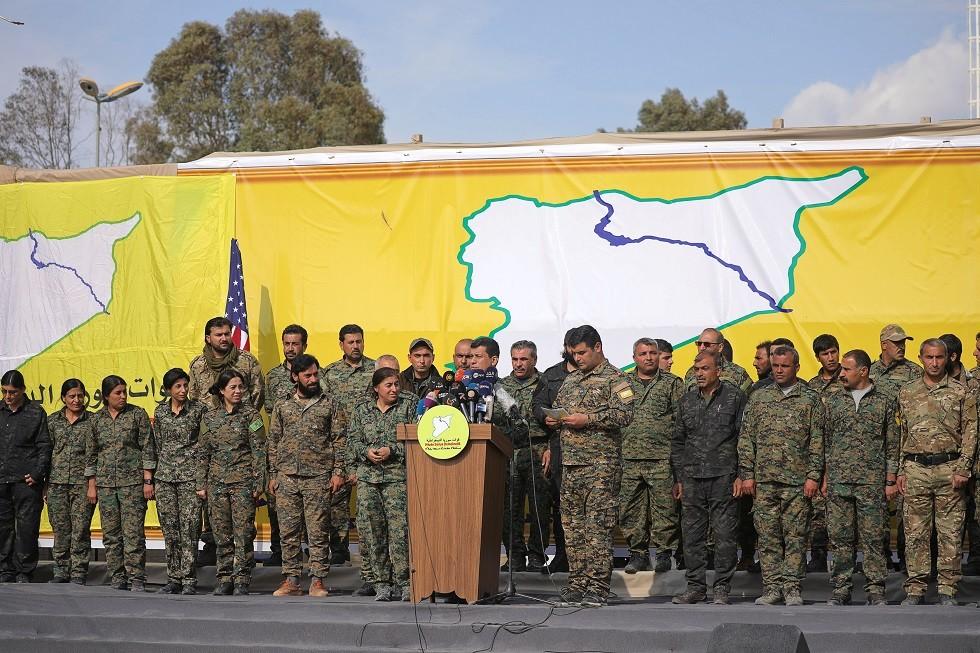 قوات سوريا الديمقراطية - أرشيف -