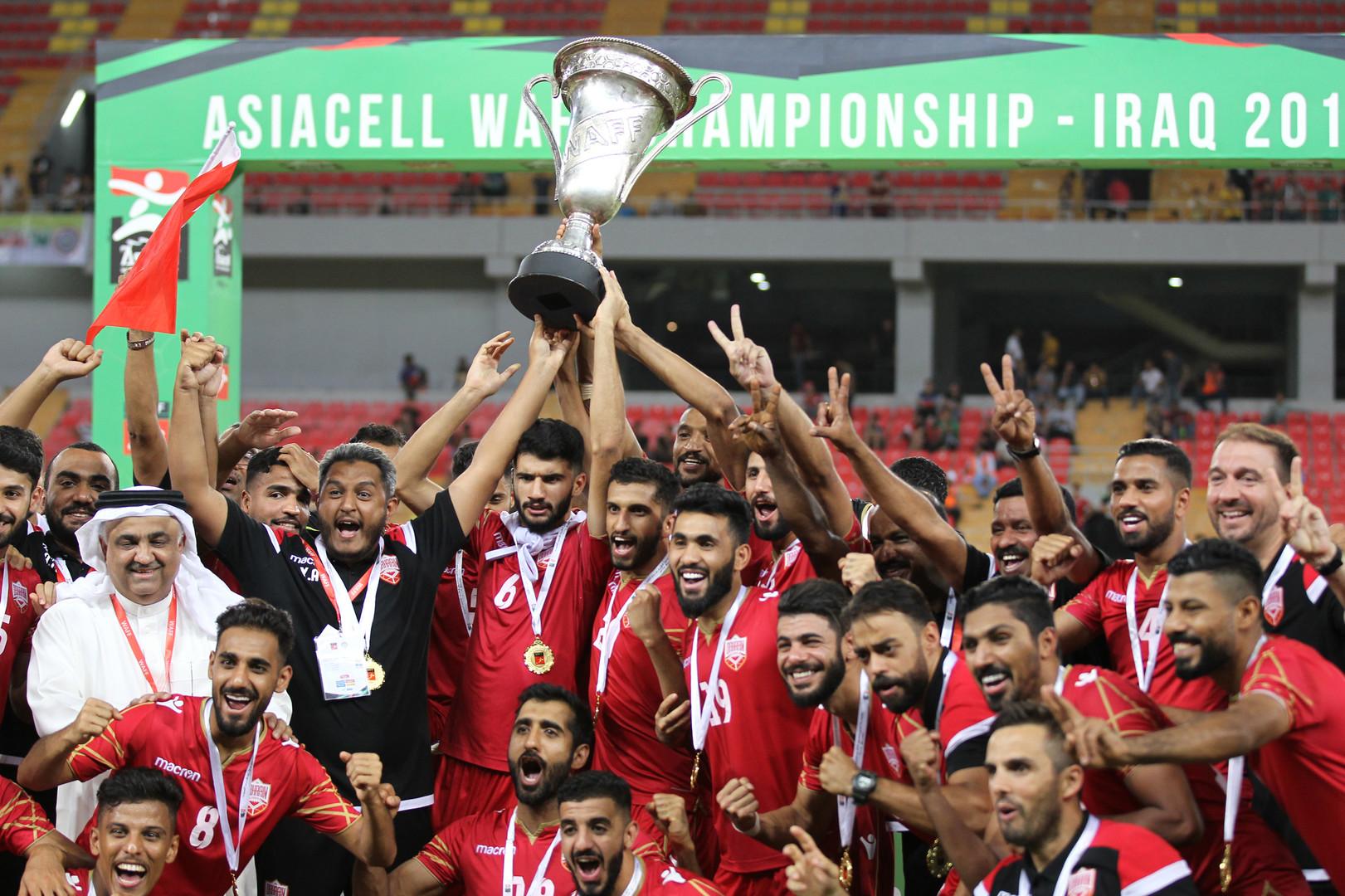 البحرين تتوج بلقب بطولة غرب آسيا على حساب العراق
