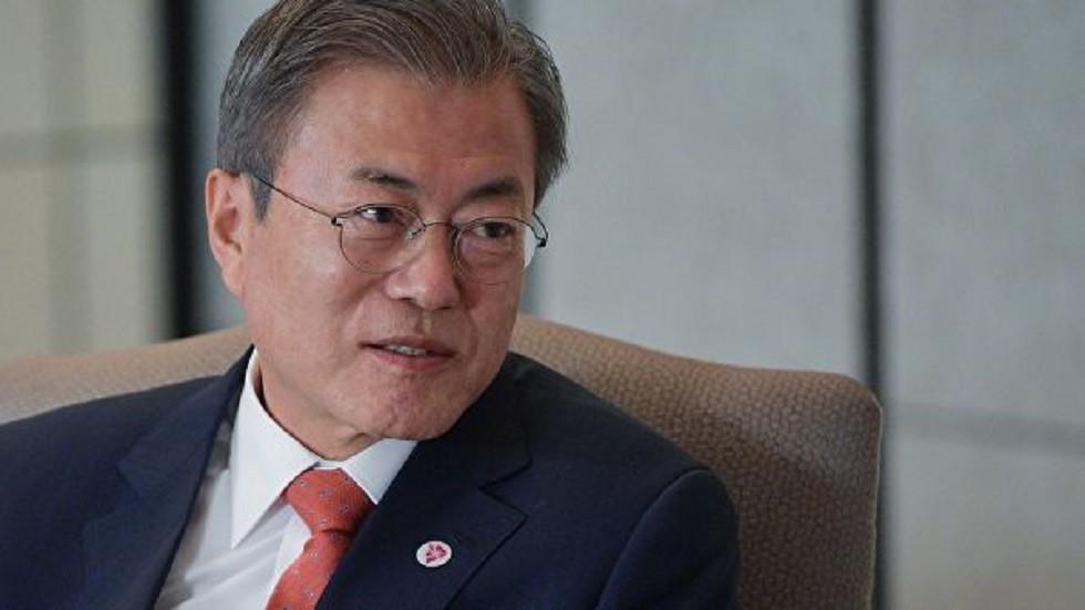 مون يدعو لتسريع مفاوضات السلاح النووي بين واشنطن وبيونغ يانغ