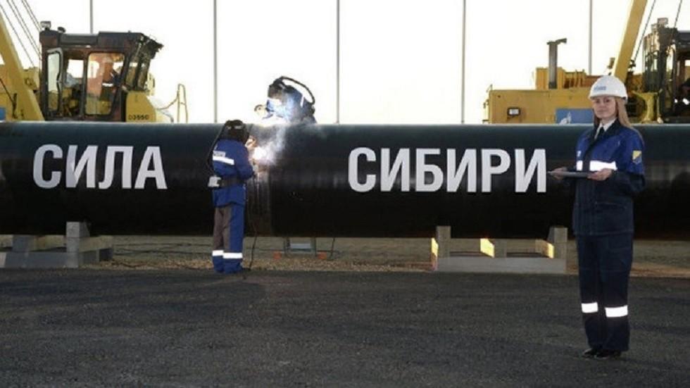 إتمام خطوة جديدة في مشروع الغاز الروسي