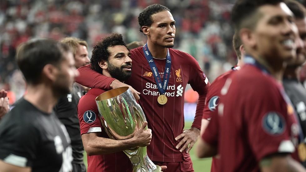 صلاح يحقق إنجازا شخصيا فريدا بتتويجه مع ليفربول بكأس السوبر الأوروبي (فيديو)