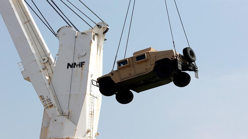 الجيش اللبناني يتسلم هبة عسكرية أمريكية