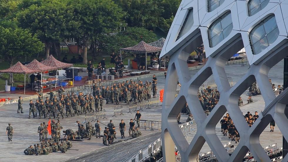 بكين: سنقمع الاحتجاجات التي تظهر