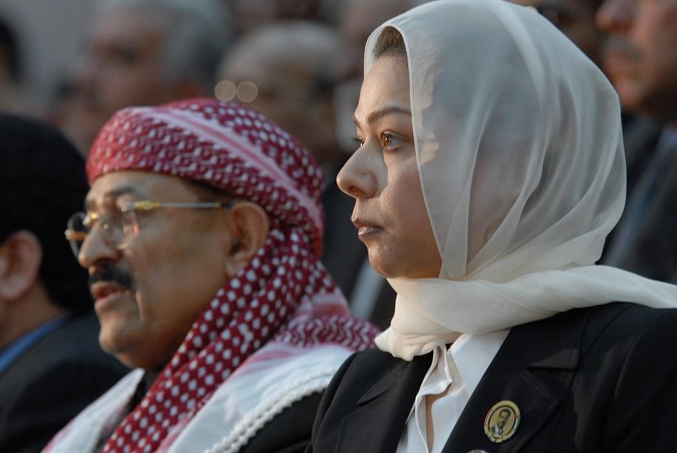 رغد صدام حسين تتحدث عن مجزرة سبايكر وويكيبيديا