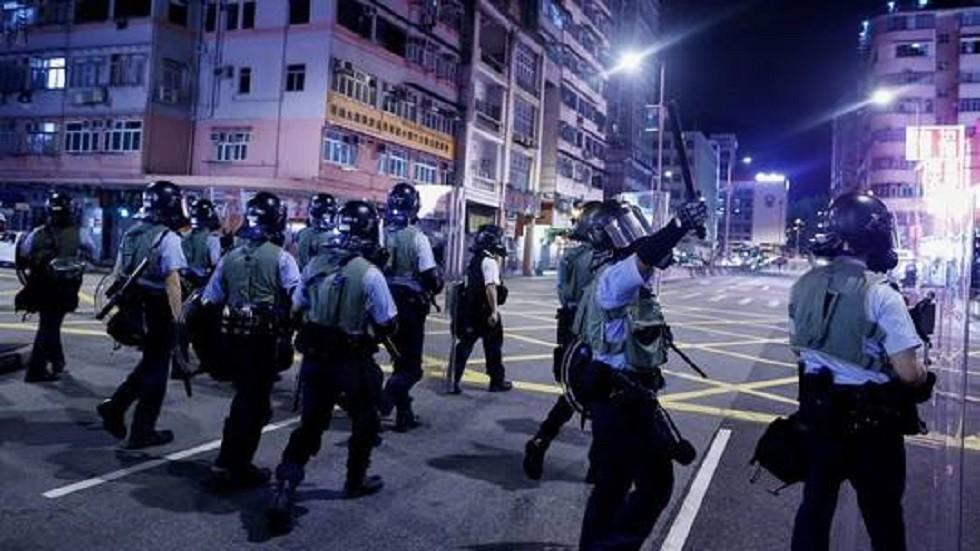 الصين: لن نقف مكتوفي الأيدي إذا خرجت الأزمة في هونغ كونغ عن السيطرة