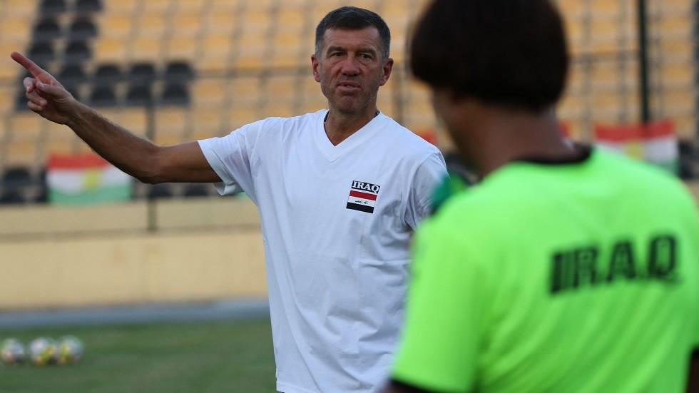 الاتحاد العراقي ينفي إقالة المدرب السلوفيني من تدريب المنتخب