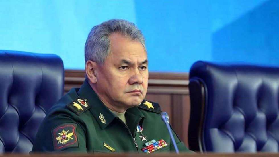 وزير الدفاع الروسي، سيرغي شويغو (صورة أرشيفية)