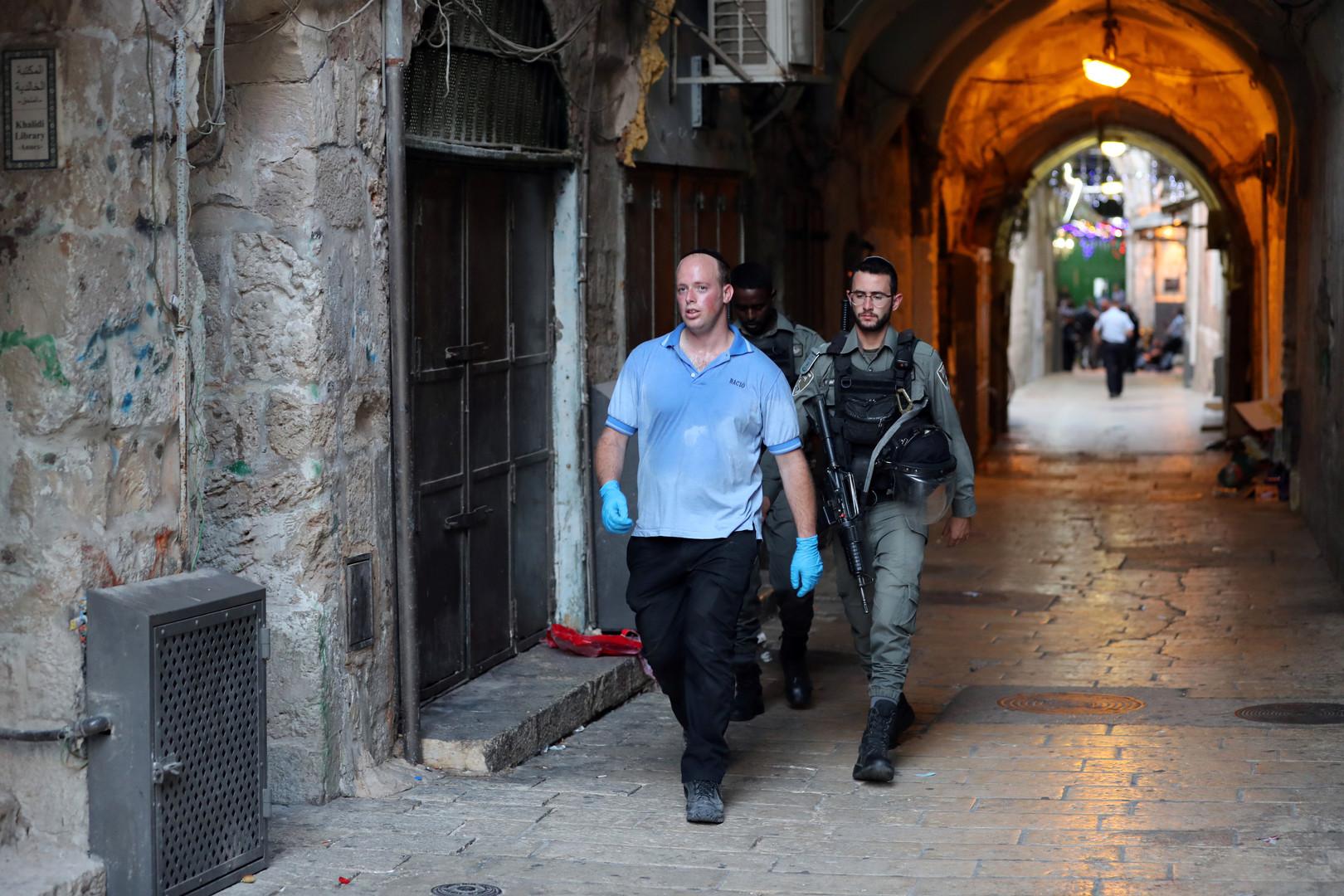 مقتل فلسطينيين اثنين برصاص الجيش الإسرائيلي عند أحدأبواب الأقصى في القدس