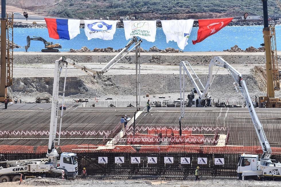 موقع بناء أول محطة للطاقة النووية في تركيا