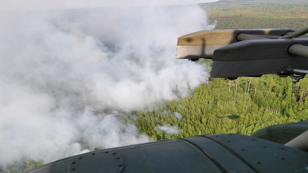 تقدم في مكافحة حرائق الغابات شرقي روسيا