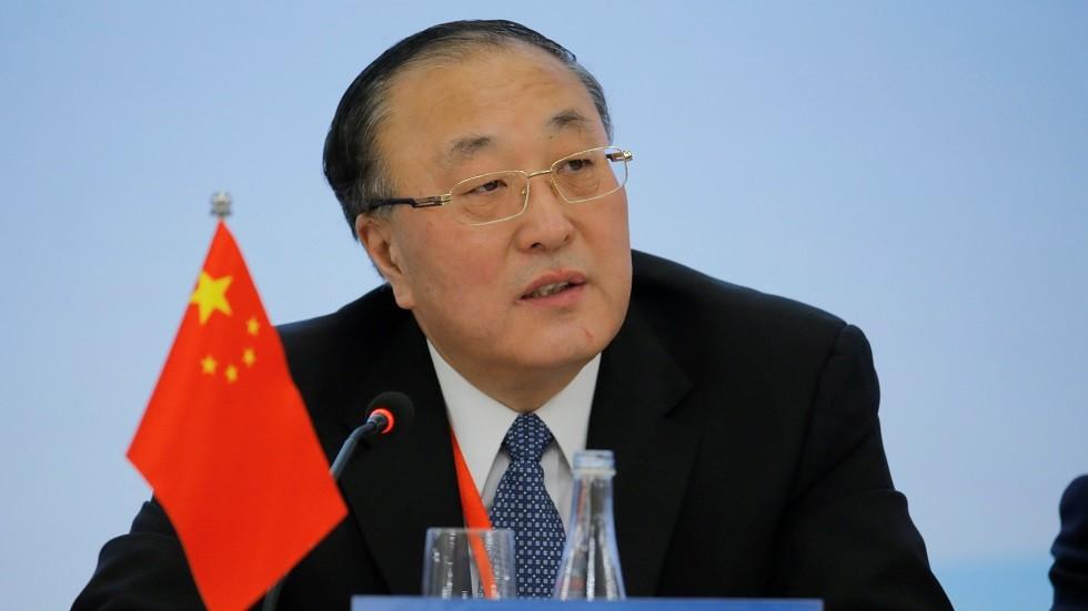 مندوب الصين الدائم لدى الأمم المتحدة تشانغ جون