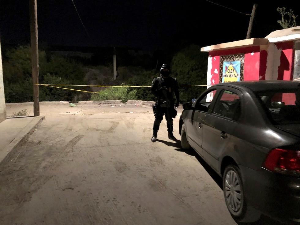 عنصر من الشرطة في المكسيك