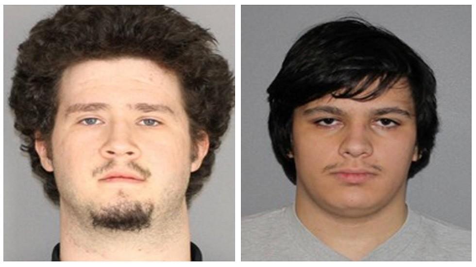 الأمريكيان أندرو كرايسل (18 عاما) وبرايان كولانري (20 عاما) المدانان بتهمة التخطيط للهجوم على بلدة إسلامبيرغ المسلمة