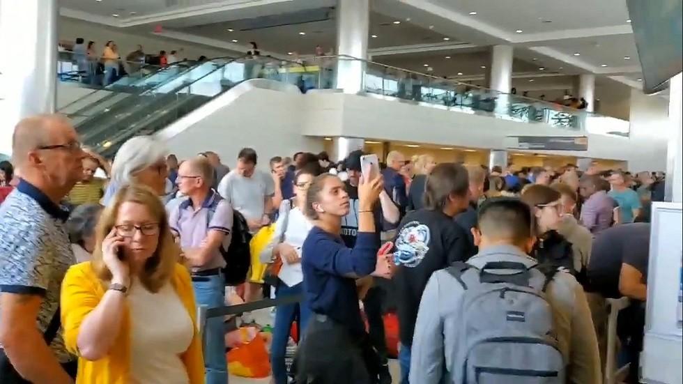 مطار دالاس الدولي في فرجينيا، الولايات المتحدة، 16 أغسطس 2019