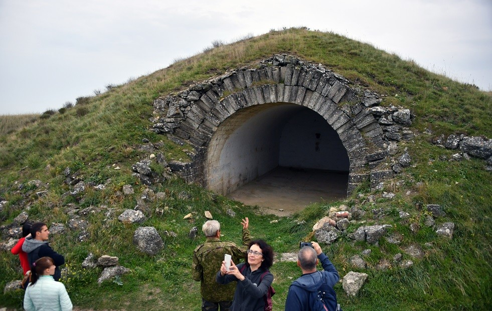 صورة ارشيفية لقلعة كيرتش