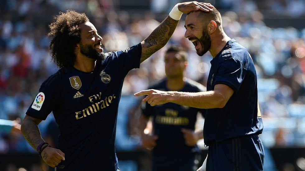 بعشرة لاعبين.. ريال مدريد يفتتح موسمه بثلاثية ضد سيلتا فيغو (فيديو)