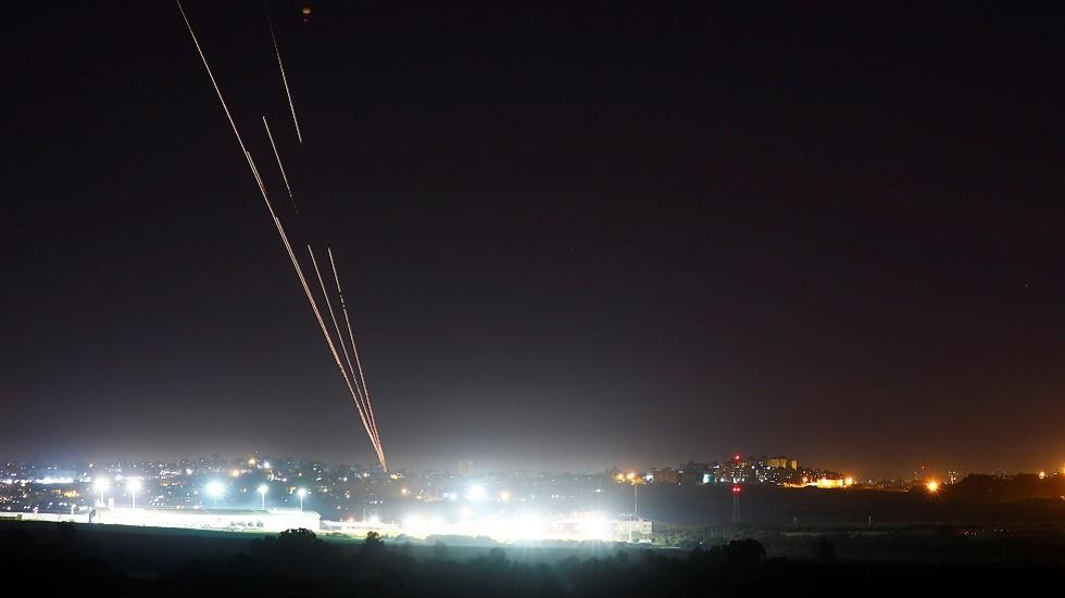 الجيش الإسرائيلي: إطلاق 3 صواريخ من غزة واعتراض اثنين منها