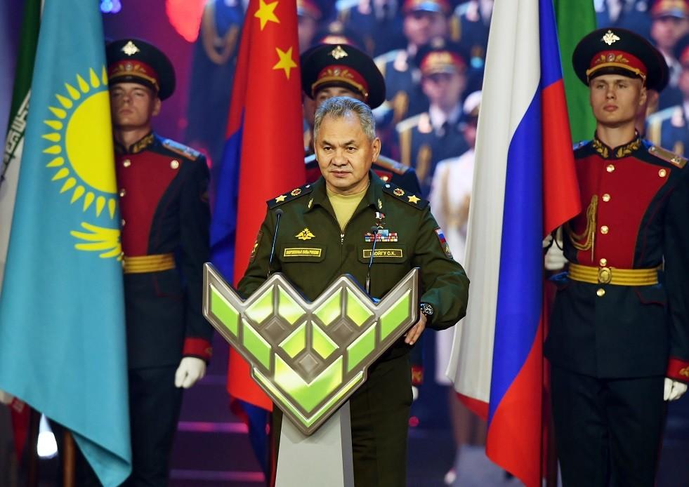 شويغو يعلن انتهاء الألعاب العسكرية الدولية