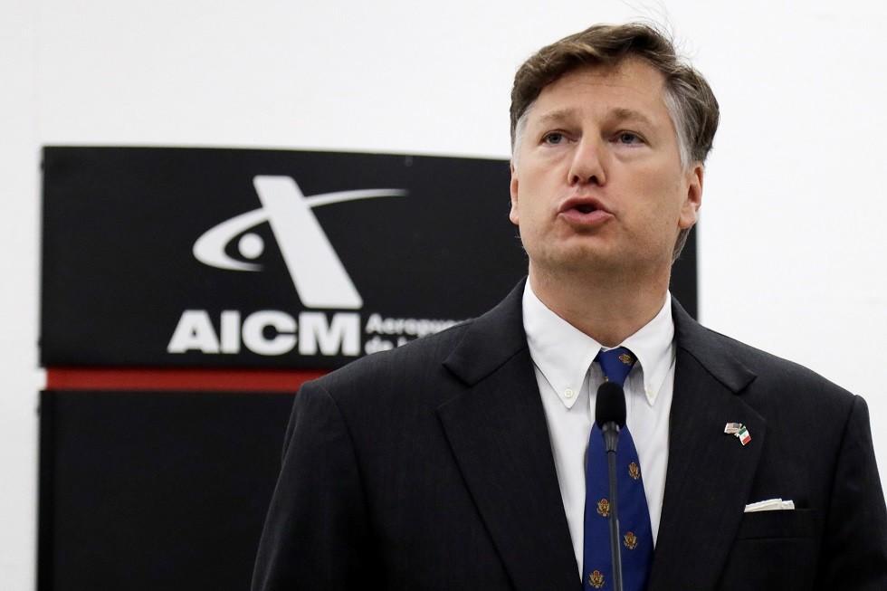 السفير الأمريكي الجديد في المكسيك كريستوفر لانداو