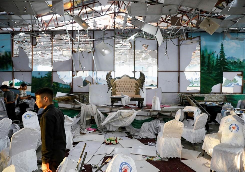 ارتفاع حصيلة ضحايا هجوم زفاف كابل إلى 63 قتيلا و182 جريحا