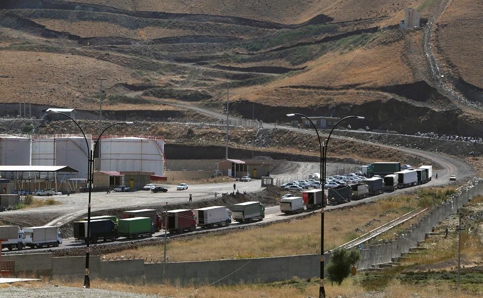 الحدود بين إيران وأقليم كردستان العراق، 14 أكتوبر 2017