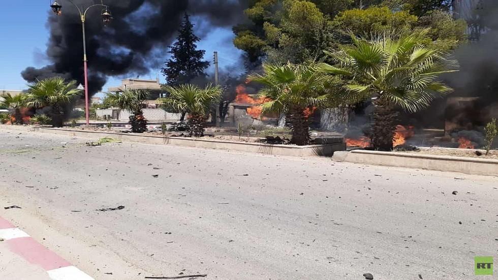 مقتل شرطي بانفجار سيارة مفخخة في القامشلي بسوريا