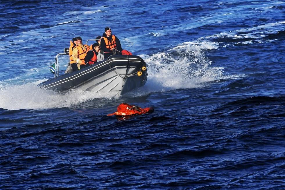 حرس الحدود الروسي ينقذ صيادين من كوريا الشمالية
